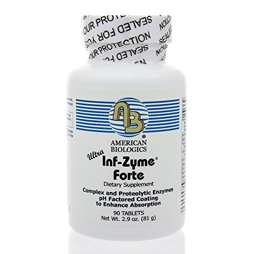 American Biologics Inf-Zyme Tablets, 90 Count