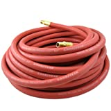 Continental ContiTech Red 3/8-inch x 100-Ft, 1/4-Inch NPT Fitting, Rubber Air Hose