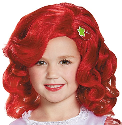 Strawberry Shortcake Deluxe Child Wig Costume Child - Deluxe Strawberry Shortcake Wig For Women