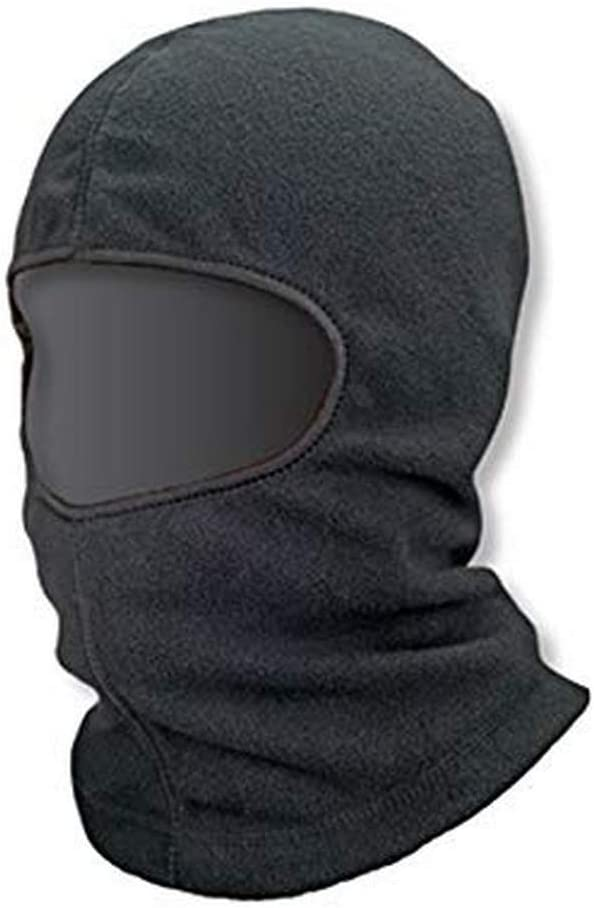 Ergodyne 16821 N-Ferno Fleece Balaclava, Standard, Black