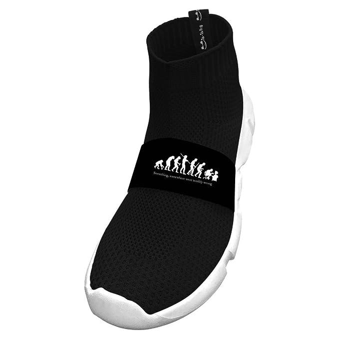 Amazon.com: Fly Knit - Zapatillas para correr sin atar ...