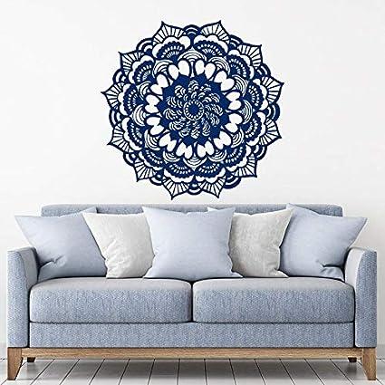 Amazon.com: scenariohome Mandala Decals Yoga Studio Vinyl ...