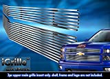 2014 billet grill chevy silverado - Stainless Steel eGrille Billet Grille Grill For 2014-2015 Chevy Silverado 1500 Reg Model