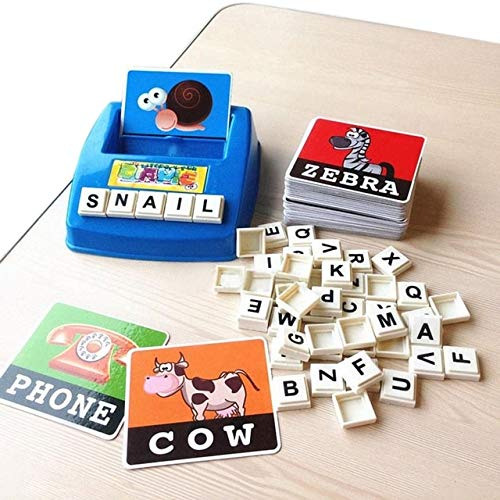 Spelling Toy English Spelling Alphabet Letter Game Early Learning Educational Toy Kids Great Gift For Children