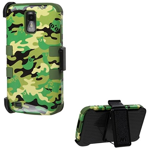 Mybat TUFF Hybrid Phone Protector Cover With Black Holste...