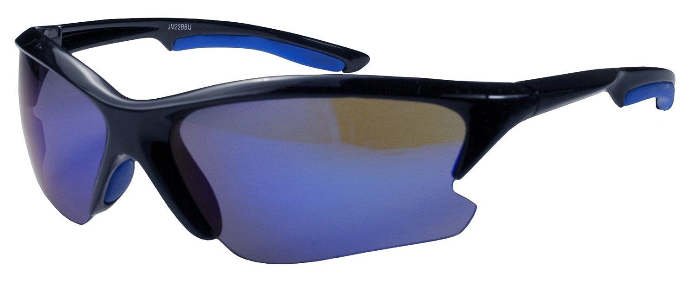 9268b0b28c Amazon.com  JiMarti JM22 Sport Wrap Sunglasses Mirror lens Colors for Golf