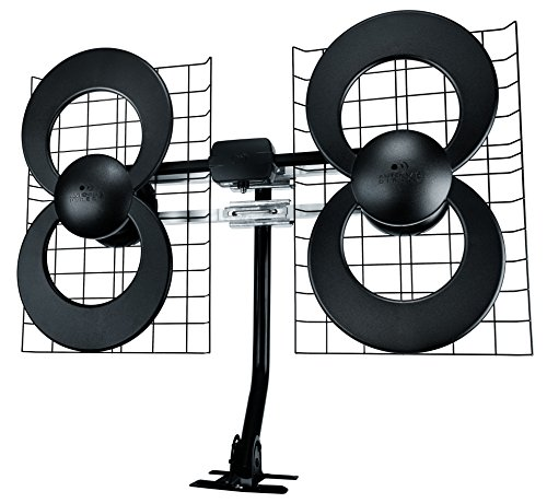 Antennas Direct (ClearStream 4 Indoor/Outdoor HDTV Antenna with Mount - 70 Mile Range)