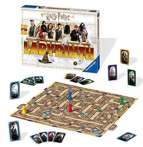 Ravensburger Harry Potter Labyrinth Game (Start With C Games That Board)