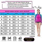 Goldfin Women's Wetsuit Top, 2mm Neoprene Wetsuit Jacket...