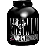 Universal Nutrition Animal Whey Isolate Loaded Whey Protein Powder Supplement, Strawberry, 4 Pound