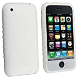 Apple Ipod Iphone PDA Accessory Bundle Kit - Rapid Home Travel + Car Charger with Ic Chip + Soft Flexible Clear/ White Silicon Skin Cover Case with Armband By Bargaincell