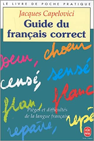 Livre gratuits en ligne Guide du français correct pdf ebook