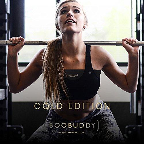 sportivo donna alternativa da Oro fascia reggiseno Booband Confezione al seno 2 regolabile reggiseno q81gWpw