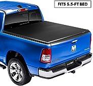 Lund Genesis Elite Tri-Fold, Soft Folding Truck Bed Tonneau Cover | 958172 | Fits 2015 - 2020 Ford F-150 5'