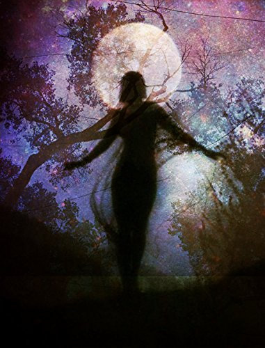 Woman of the Wild - 11x17 Poster Print - Moon Goddess Art