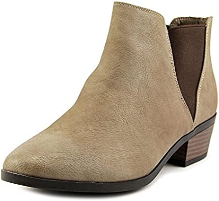Women Fashionable Bootie Taupe