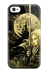 Christmas Gifts castlevania anime Anime Pop Culture Hard Plastic iPhone 4/4s cases 5068453K805234143