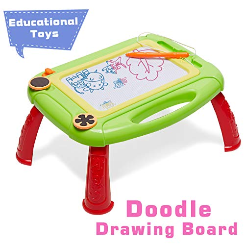 HahaGift Preschool Toys for 1 2 Year Old Boys Toys Age 2 Girls Gift Ideas, Magnetic Drawing Board Educational Toys for 2 1 Year Old Girl Gift Age 1 3 Christmas Birthday Gifts Kids Magna Doodle Board