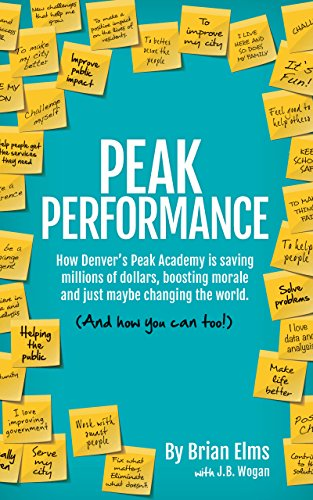 Peak Performance: How Denver's Peak Academy is Saving Money, Boosting Morale and Just Maybe Changing the World. (And How You Can, - Academy Is The