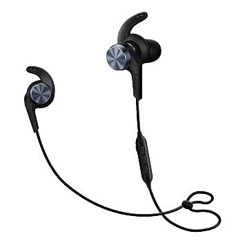 1MORE iBFree Auriculares Inalámbricos Bluetooth 4.1 Running con Antideslizantes en el oído y con Micrófono, Resistente al Agua para Deportes,E1006 Negro: ...