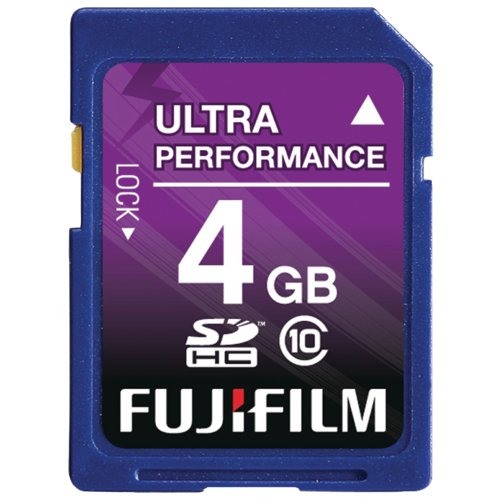 Fujifilm 4 GB SDHC Class 10 Flash Memory Card