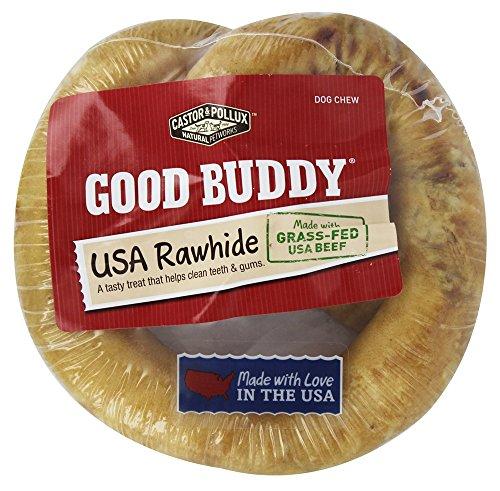 (Castor & Pollux - Good Buddy USA Rawhide Pretzel - 6 in)