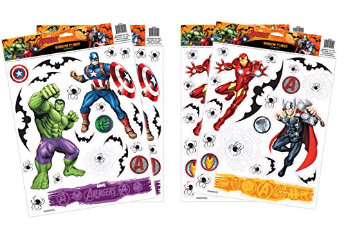 Marvel Avengers Window Cling Set