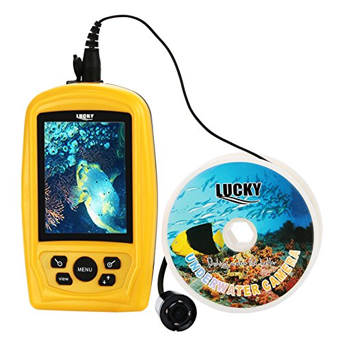 Lucky Fish Finder Monitor with Waterproof 20m Underwater Fish Inspection Camera 110V Review