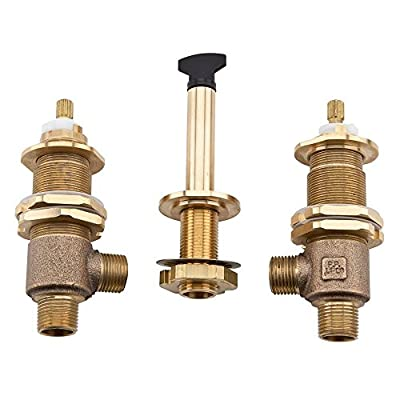 Pfister 0X6150R 3-Hole Adjustable Roman Tub Rough-In Valve
