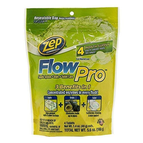 Zep Automatic Toilet Bowl Cleaner 5.6 ounce ZFLOW4 (Case of 12)