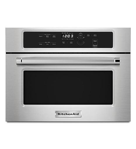 amazon com kitchenaid microwave oven kmbs104ess stainless steel rh amazon com