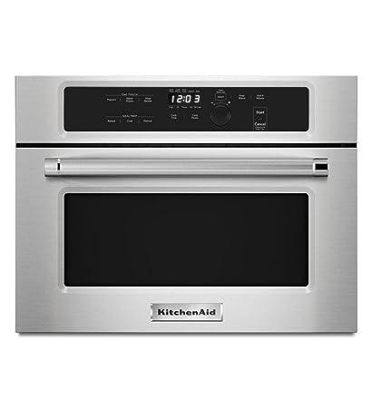 Superieur KITCHENAID KMBS104ESS 24u0026quot; Built In Microwave With 27u0026quot;/30u0026quot; Trim  Kits
