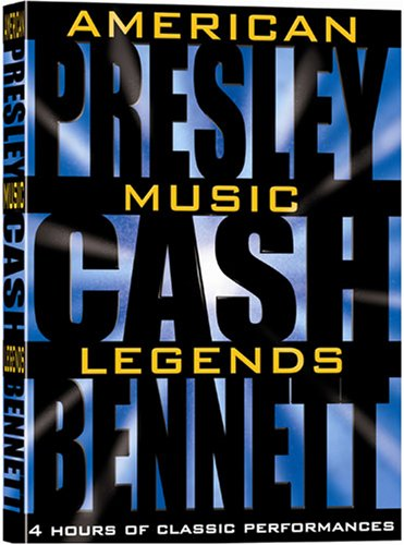 American Music Legends Box Set (Johnny Cash, Elvis Presley, Tony Bennett