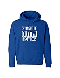 Indica Plateau Straight Outta Riskey Reels Unisex Adult Hoodie