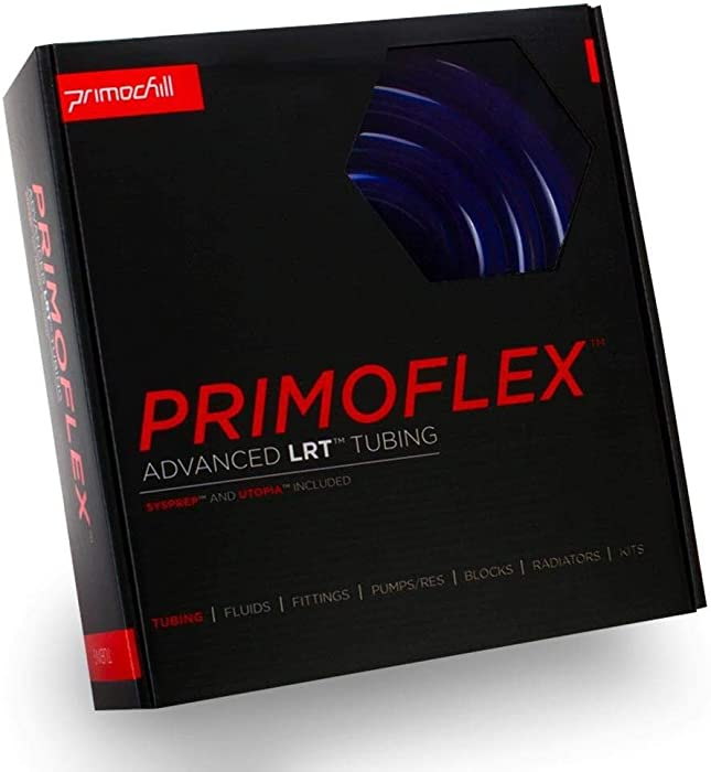 PrimoFlex Advanced LRT 1/2in. ID x 3/4in. OD Tubing Bundle (10ft Pack) - Brilliant UV Blue