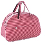 Large Capacity Women Travel Bag Luggage Duffle Bag New Flower Print Handbag as picture3