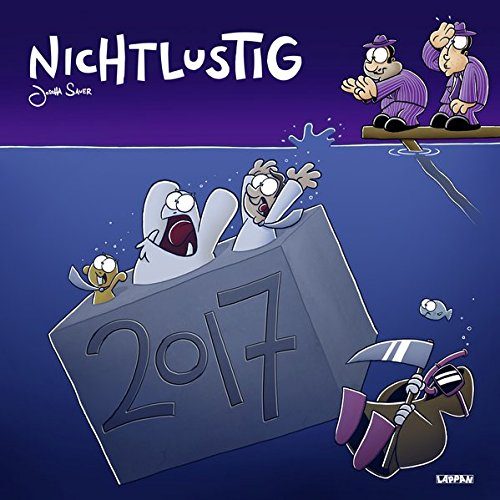 Nichtlustig Wandkalender 2017