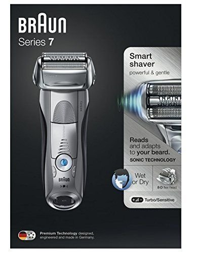 - Braun 7893s Wet & Dry Electric Foil Shaver