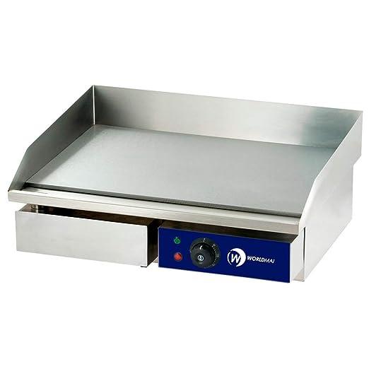 Plancha eléctrica industrial cocina - MBH: Amazon.es: Hogar
