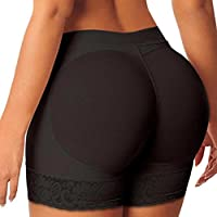 Fashion Pants for Women, Egmy 1PC Woman Body Shaper Butt Lifter Trainer Lift Butt Hip Enhancer Panty (L, Black)