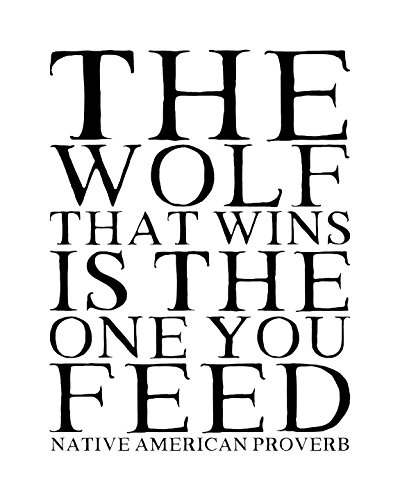 Native American Proverb Print