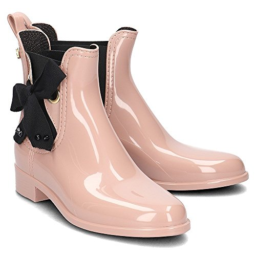 Lemon Jelly Haley 01 Damen Gummistiefel (Black) Rose