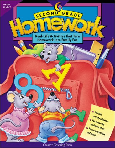 Second Grade Homework: Real-life Activities that Turn Homework into Family Fun