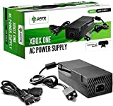Ortz Xbox One Power Supply [ENHANCED QUIET VERSION] AC Adapter Cord Best for Charging - Brick Style - Great Charger Accessory Kit with Cable