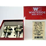 Whiteside Router Bits 6001 Round Stile and Rail Set with 1-Inch Cutting Length