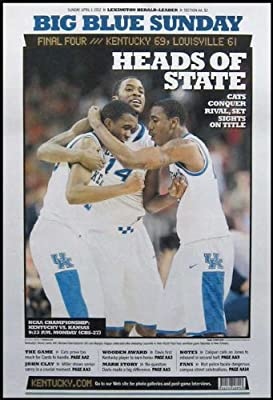 Kentucky Wildcats - Final Four 2012 - Heads of State - Wood Mounted Poster Print
