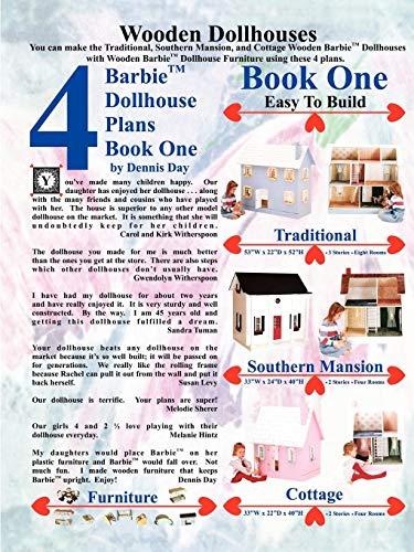 Barbie Dollhouse Plans Book One (Book Plan 1 Dollhouse)
