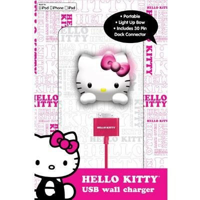 Hello Kitty wall charger (Iphone Charger Hello Kitty)