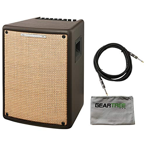 Ibanez T80II Troubadour II Acoustic Guitar Combo Amplifier Brown - 80 Watt w/Ca