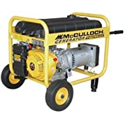 McCulloch FG5700AK 5,700 Watt 11 HP 338cc Portable Gas Powered Generator